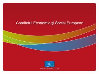 Comitetul Economic ?i Social European