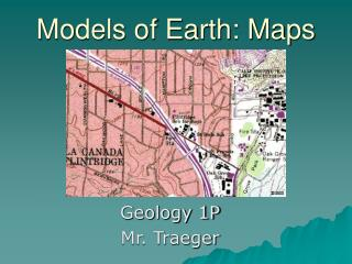 Models of Earth: Maps