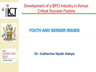 YOUTH AND GENDER ISSUES