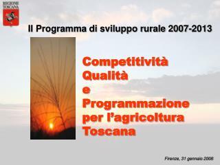 Firenze, 31 gennaio 2008