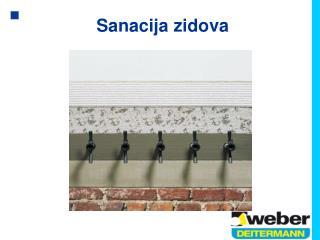 Sanacija zidova