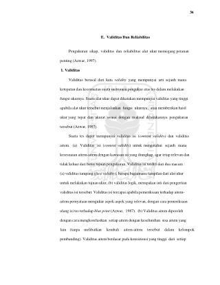 36 E.  Validitas Dan Reliabilitas