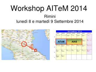 Workshop AITeM 2014