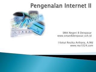 Pengenalan  Internet II