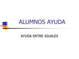ALUMNOS AYUDA