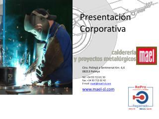 Presentaci n Corporativa