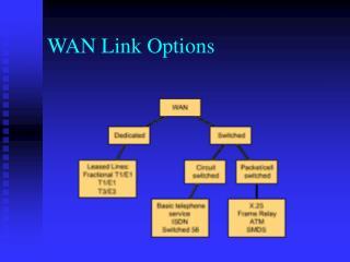WAN Link Options