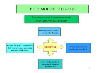 P.O.R. MOLISE   2000-2006