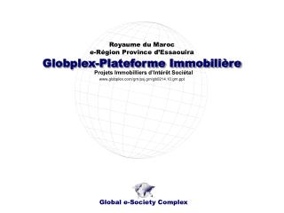 Globplex-Plateforme Immobilière