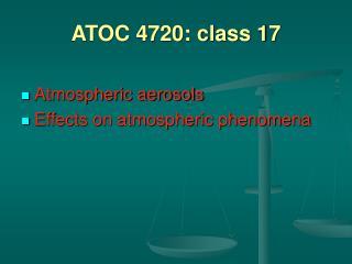 ATOC 4720: class 17