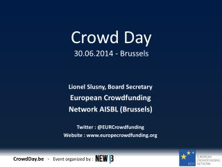 Crowd Day 30.06.2014 - Brussels