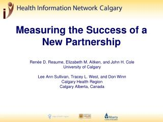 Measuring the Success of a New Partnership