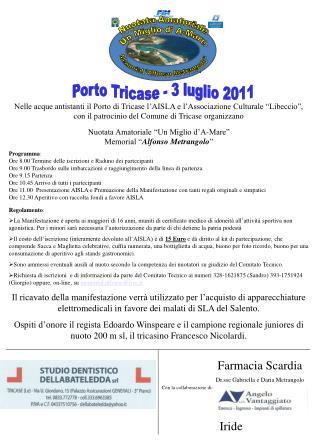 Porto Tricase - 3 luglio 2011
