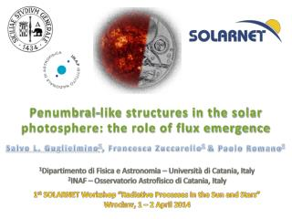 Penumbral-like structures in the solar photosphere: the role of flux emergence