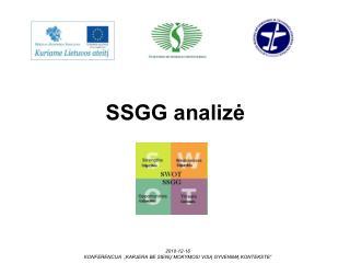 SSGG analizė