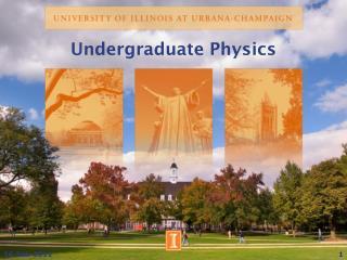 Undergraduate Physics