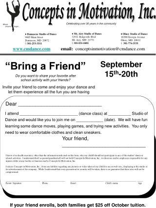 """Bring a Friend"""