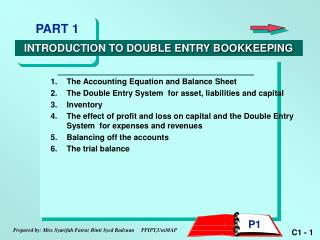 The Accounting Equation and Balance Sheet