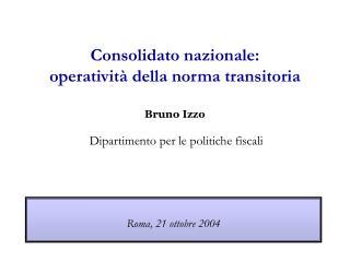 Roma, 21 ottobre 2004