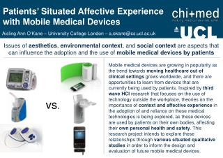 Patients '  Situated Affective Experience with Mobile Medical Devices