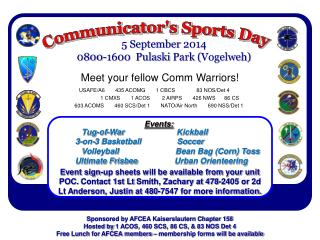 Communicator's Sports Day
