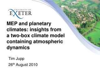 MEP and planetary climates: insights from a two-box climate model containing atmospheric dynamics