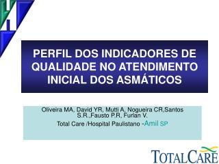 PERFIL DOS INDICADORES DE QUALIDADE NO ATENDIMENTO INICIAL DOS ASMÁTICOS