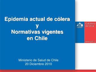 Ministerio de Salud de Chile 20 Diciembre 2010