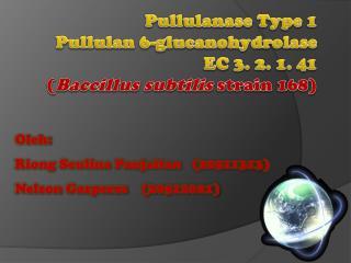 Pullulanase Type 1 Pullulan 6-glucanohydrolase EC 3. 2. 1. 41 ( Baccillus subtilis  strain 168)