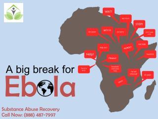 A big break for Ebola