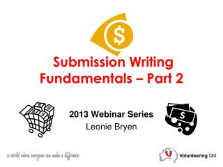 Submission Writing Fundamentals – Part 2