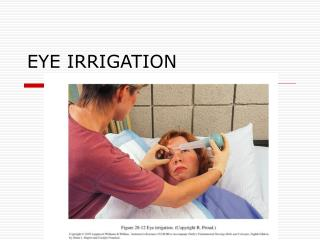 EYE IRRIGATION