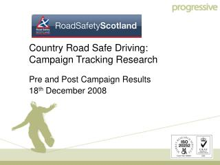 Country Road Safe Driving:  Campaign Tracking Research