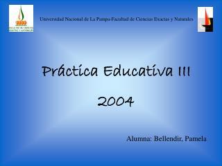 Universidad Nacional de La Pampa-Facultad de Ciencias Exactas y Naturales