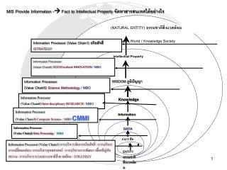 (NATURAL ENTITY)  ธรรมชาติสิ่งแวดล้อม Information World / Knowledge Society