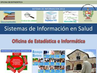 Sistemas de Información en Salud