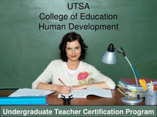 UTSA  College of Education  Human Development