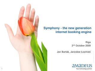 Symphony - the new generation internet booking engine
