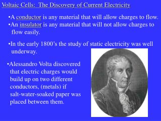 A conductor is any material that will allow charges to flow. An insulator is any material that will not allow charges to