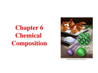 Chapter 6 Chemical  Composition