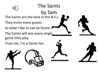 The Saints  by Sam