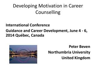 Developing Motivation in Career Counselling