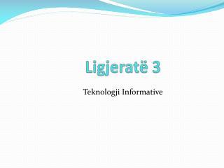 Teknologji Informative