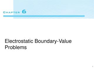 Electrostatic Boundary-Value Problems