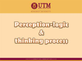 Perception-logic  &  thinking process