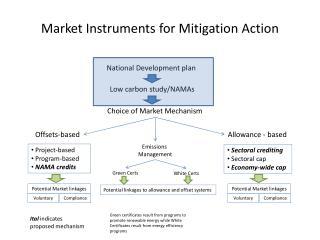 Market Instruments for Mitigation Action