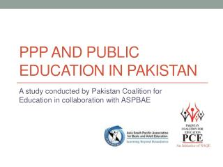 PPP and Public Education in Pakistan