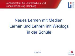 Landesinstitut für Lehrerbildung und Schulentwicklung Hamburg