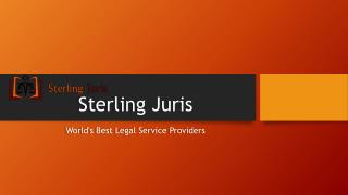 Sterling Juris- A pioneer name in corporate legal services