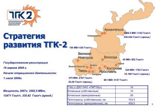 Стратегия развития ТГК-2